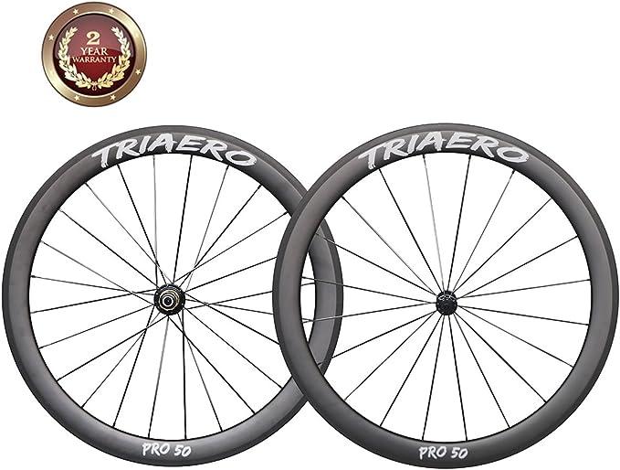 IMUST-Triaero Pro-50mm Aero 700C Carbono Bicicleta Carretera ...