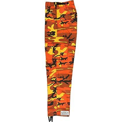 ... Army Universe Orange Camouflage Poly Cotton Cargo BDU Pants Camo  Military Fatigues Pin (Medium Regular ... b788cd1e94c