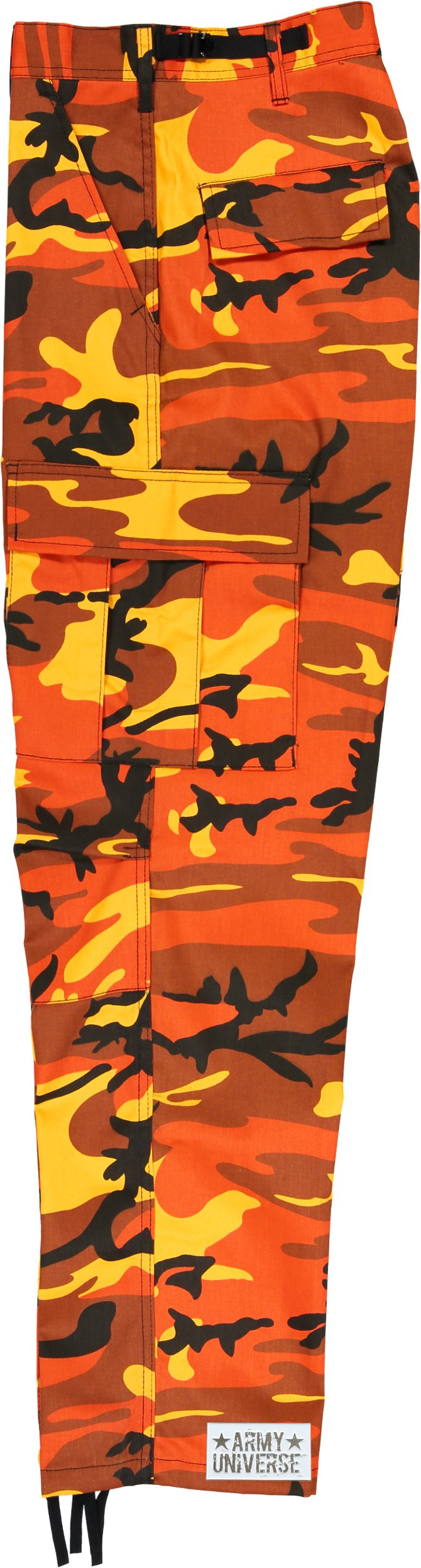 Army Universe Orange Camo Cargo BDU Pants Hunters Camouflage Tactical  Military Fatigues with Pin - OCBDU+PIN   Pants   Clothing 7dd90b16be0