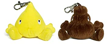 Pee&Poo PIS y Caca 2010bb Llavero: Amazon.es: Juguetes y juegos