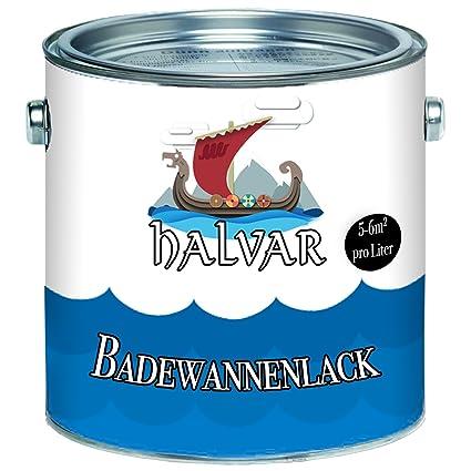 Revestimiento para bañera escandinavo Halvar 2K, pintura para cerámica, esmalte, acrílico, azulejos