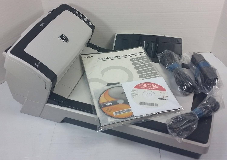 Certified Refurbished Fujitsu Fi-6230 Document Scanner