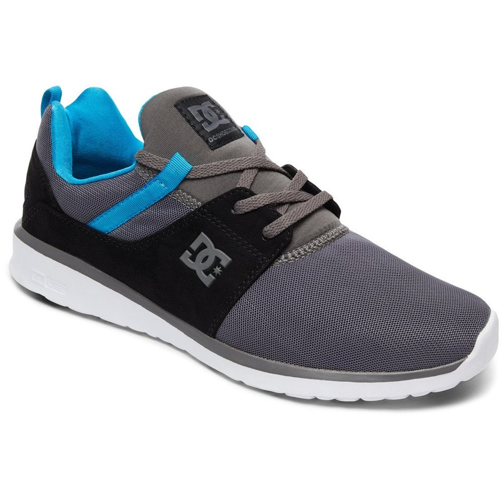 DC Mens Heathrow Light grau schuhe Größe 7.5