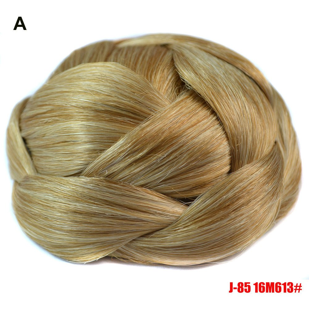 EOWEO Pretty Woman Girl Ponytail Holder Hairpiece Wig Hair Ring Bun