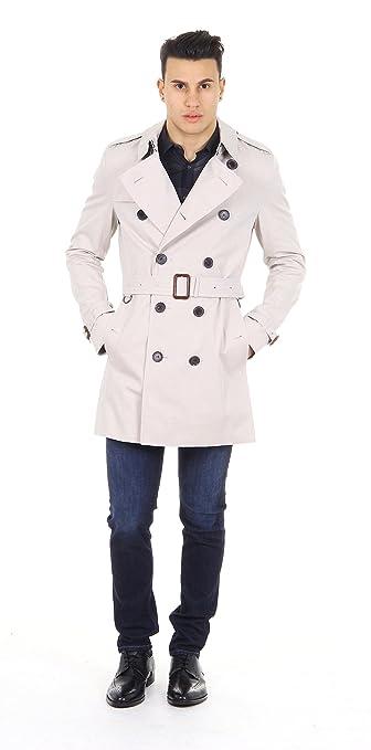 6b5160f039e9 Burberry London mens trench Raincoat Britton 3761546  Amazon.co.uk  Clothing