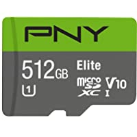 Deals on PNY Elite 512GB MicroSDXC Card, P-SDU512U190EL-GE