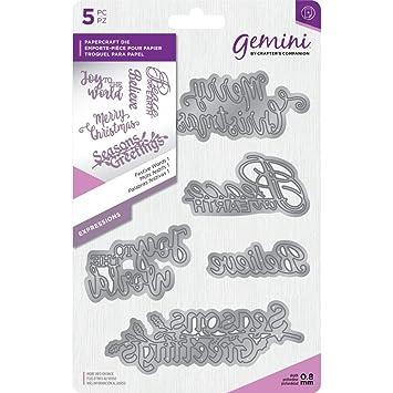 Christmas Expressions.Amazon Com Gemini Create A Card Expressions Christmas