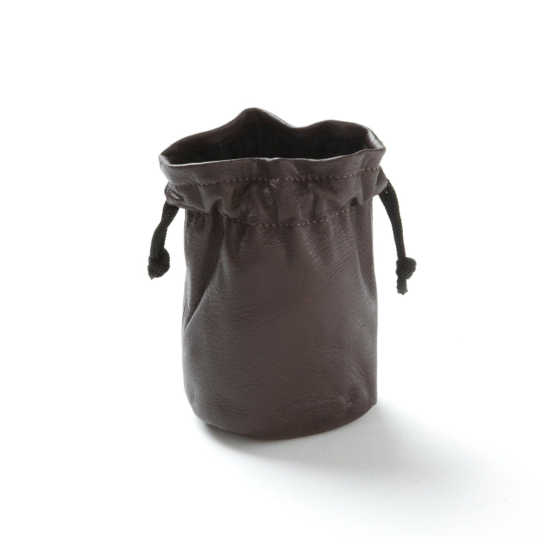 Small Chocolate Leather Bag