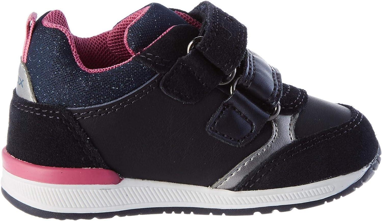 First Walker Shoe para Beb/és Geox B Rishon Girl B