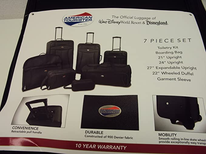 Image Unavailable Not Available For Colour American Tourister 7 Piece Luggage Set