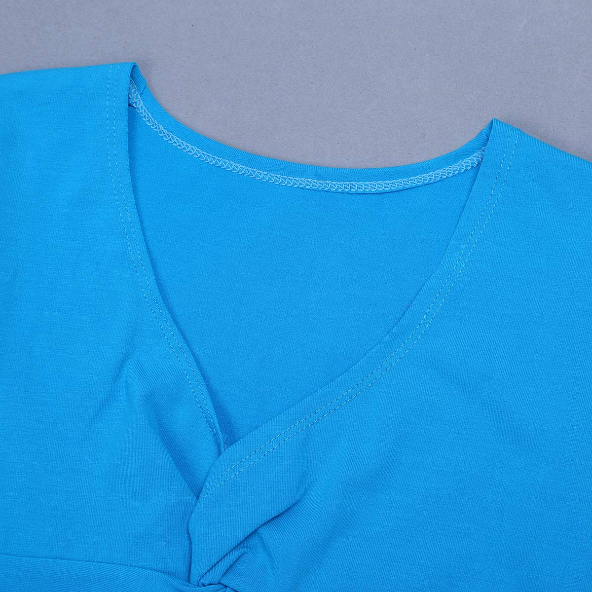iiniim Girls Knit Wrap Ballet Dance Crossover Cardigan Long Sleeve Gymnastics Sweaters Costume