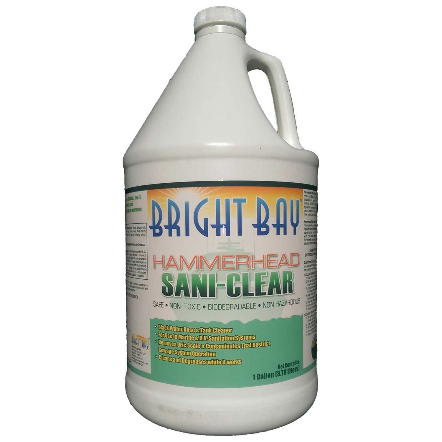 Hammerhead MS128, Sani-Clear, Gallon Bottle 1/Case