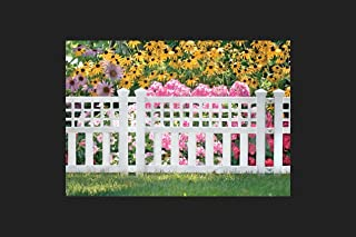 "product image for Suncast Grand View Fence 20.5 "" H X 24 "" W X 1.5 "" D Sturdy Resin"