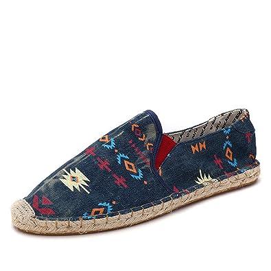 Herren Slipper Männer Schuhe Frühling Sommer Atmungsaktive Mode Gewebt  Männer Freizeitschuhe Loafers Bequeme Mokassins 9556d8628e
