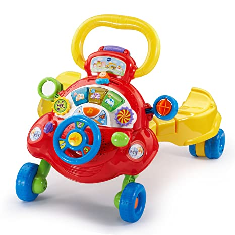 Amazon Vtech Sit Stand And Ride Baby Walker Frustration Free