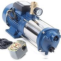 sujrtuj - Bomba de agua de 1,8 kW, bomba centrífuga de agua 9000 L/H máx. 230 V con interruptor