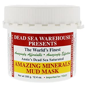 Dead Sea Warehouse - Amazing Minerals Mud Mask. All Natural Professional Spa Formulation, Face and Body, Fast-Acting, Gentle Exfoliation (12.4 Ounces)