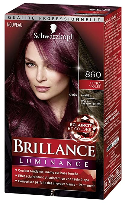 Schwarzkopf Brillance Coloration Permanente Cheveux Intense