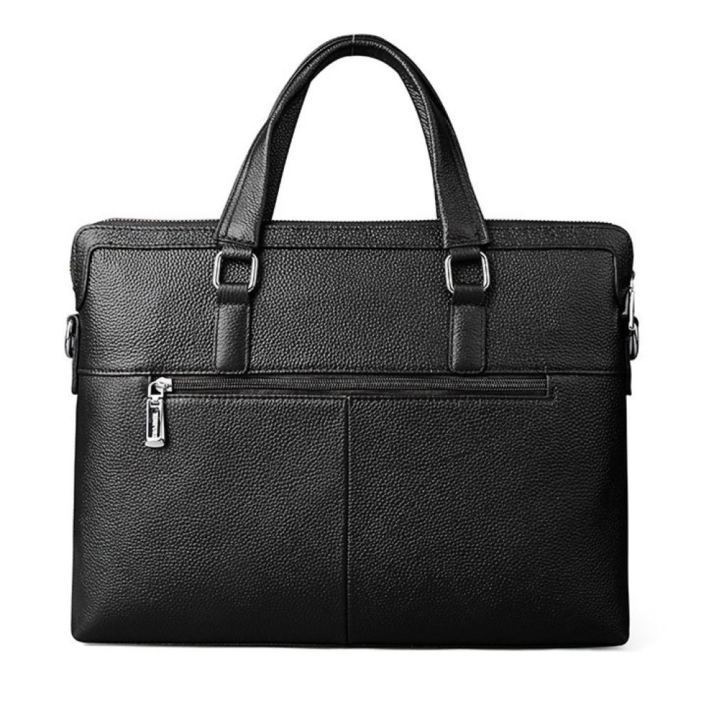 Travel Messenger Bag for Tablet,Black-OneSize BAAFG Mens Leather Cross Body//Shoulder