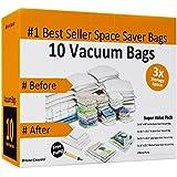 10 Space Saver Bags for Reusable Long Term Vacuum Storage