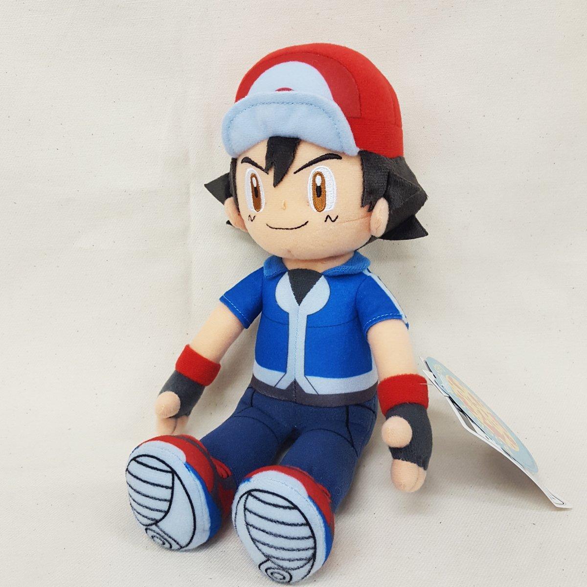 amazon com sekiguchi pokemon ash ketchum satoshi stuffed plush