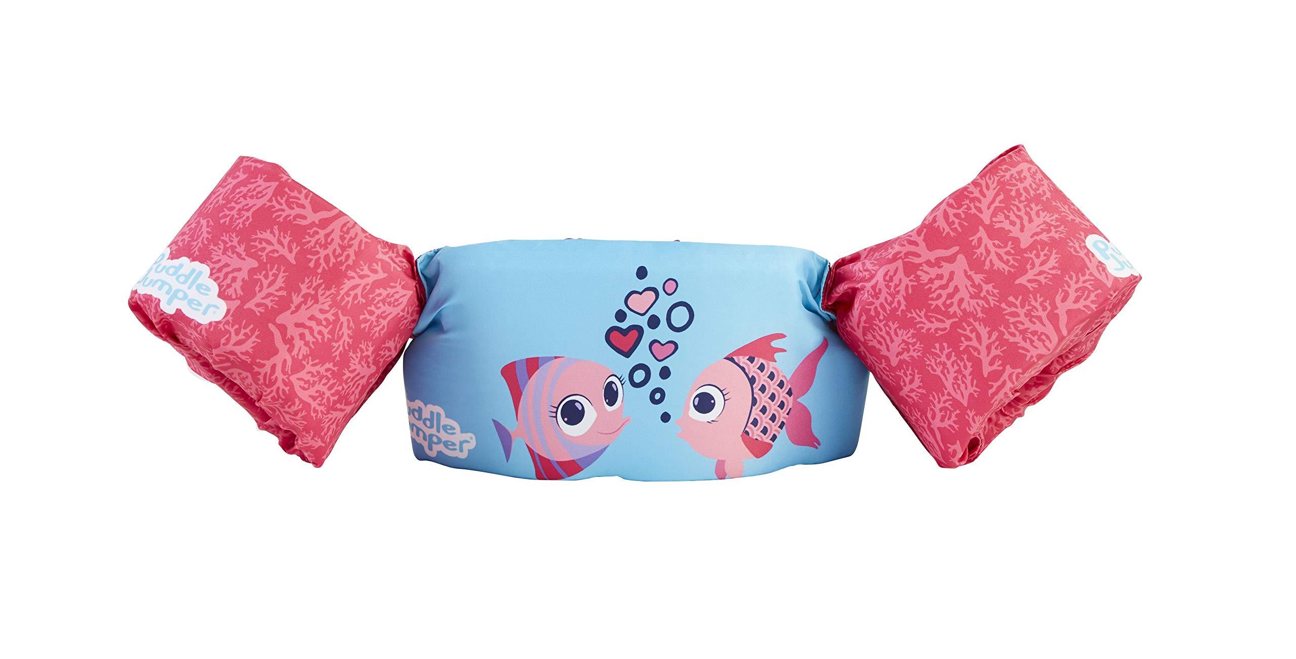 Stearns Puddle Jumper Kids Life Jacket   Life Vest for Children, Coral Fish, 30-50 Pounds