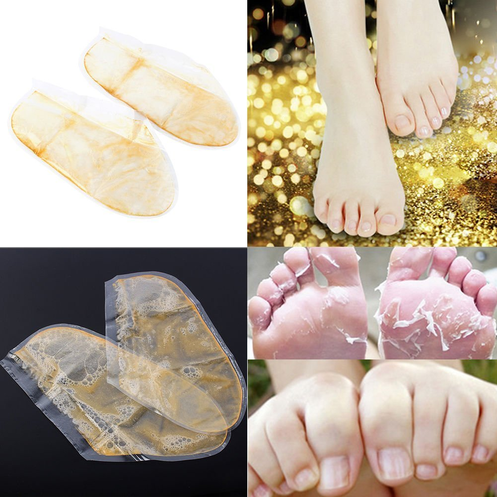 10-Pair Foot Peeling Mask, Smooth Feet-Exfoliating Calluses and Dead Skin Remover, get back smooth baby feet ZJchao