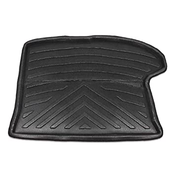 uxcell/® Black Rear Trunk Tray Boot Liner Cargo Floor Mat Cover for Jeep Compass 2007-2016