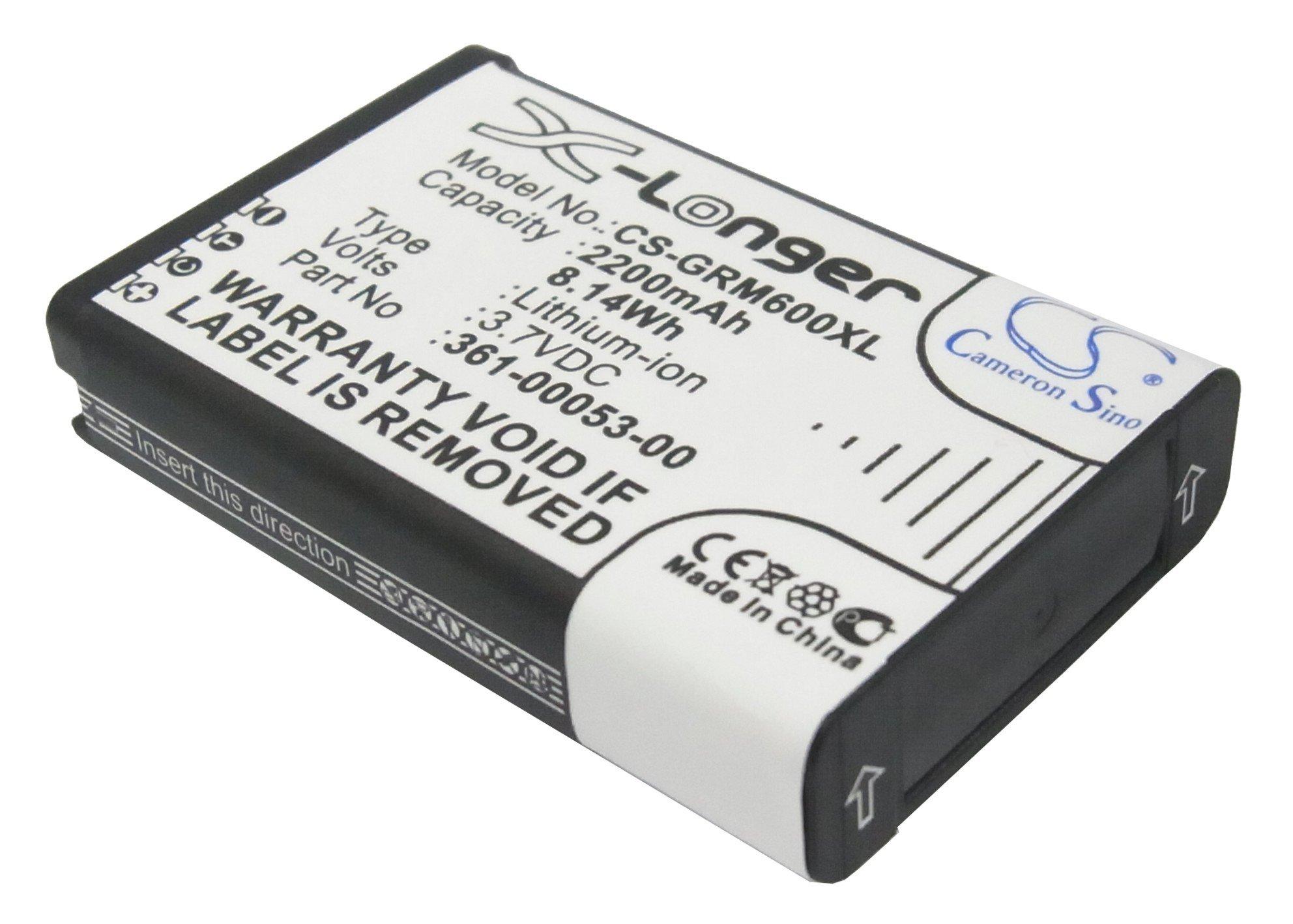 VinTrons 361-00053-00 Replacement Extended Battery for Garmin Alpha 100 handheld, Monterra