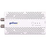 goCoax MoCA 2.5 Adapter for Ethernet Over Coax(Single Pack). MoCA 2.5. 1x GbE Port. Provide 2.5Gbps Bandwidth with existing c