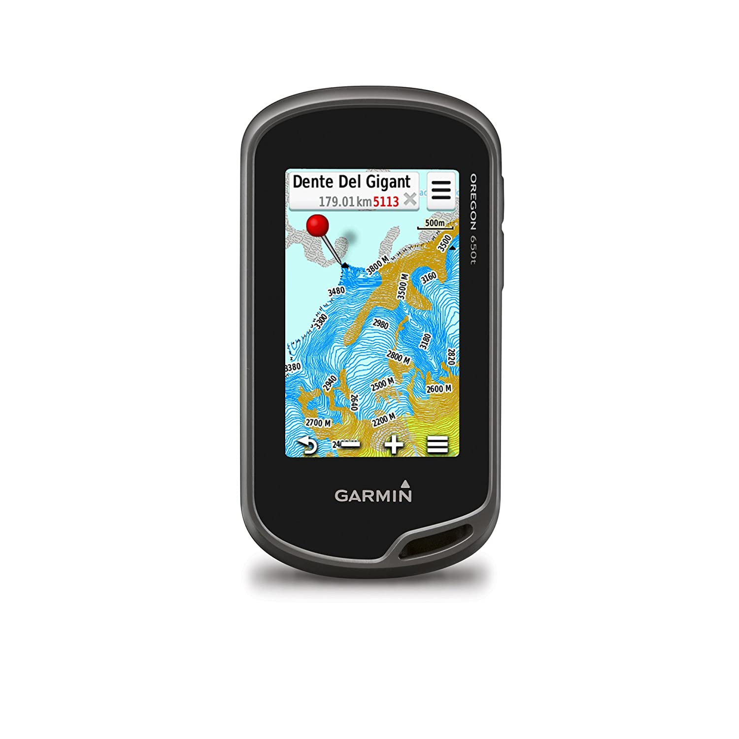Garmin Oregon 650t - Navegador GPS (NMEA 0183, All Europe, 76.2 mm (3