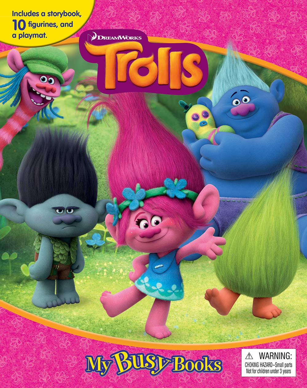 DreamWorks Trolls My Busy Book: Phidal Publishing Inc