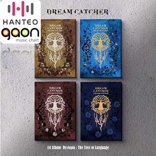 Dystopia : The Tree of Language E ver. 1st Album Photocard Set Dreamcatcher CD+Booklet+Folded Poster+Others with Extra Decorative Sticker Set