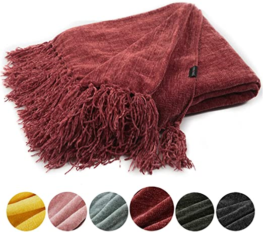 chenille throw blanket - threshold