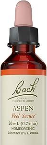 Bach Original Flower Remedy Dropper, 20 ml, Aspen Flower Essence