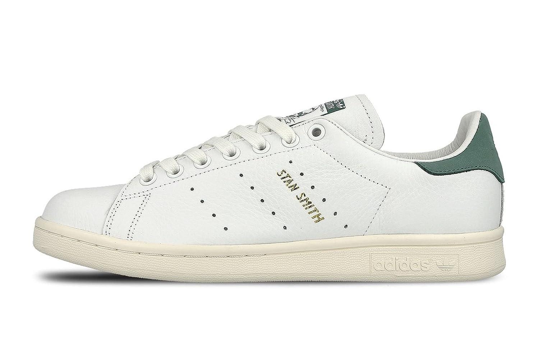 brand new 7a49a 3c919 adidas Stan Smith chaussures 13,0 ftwr white vapour steel, Blanc Casse -  Bianco (Ftwwht Ftwwht Green), 48 2 3 EU  Amazon.fr  Vêtements et accessoires
