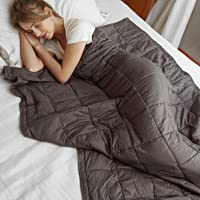 MerryLife Heavy Weighted Blankets & Duvet Combo Cool, Breathable Sleep Comfort | Firm Pressure Bedding