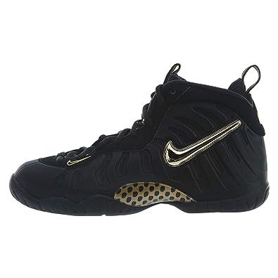 the latest 2bfb8 67b39 Amazon.com   Nike Little Posite Pro (Gs) - Black Metallic Gold Boys Girls    Basketball