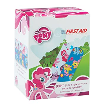 my little pony bandages first aid supplies 100 per pack - First Aid Supplies