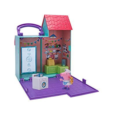 Peppa Pig Doll Hospital Little Places Playset: Toys & Games