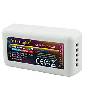 LIGHTEU, 2.4G Wireless WiFi Control Module LED RGBW Streifen