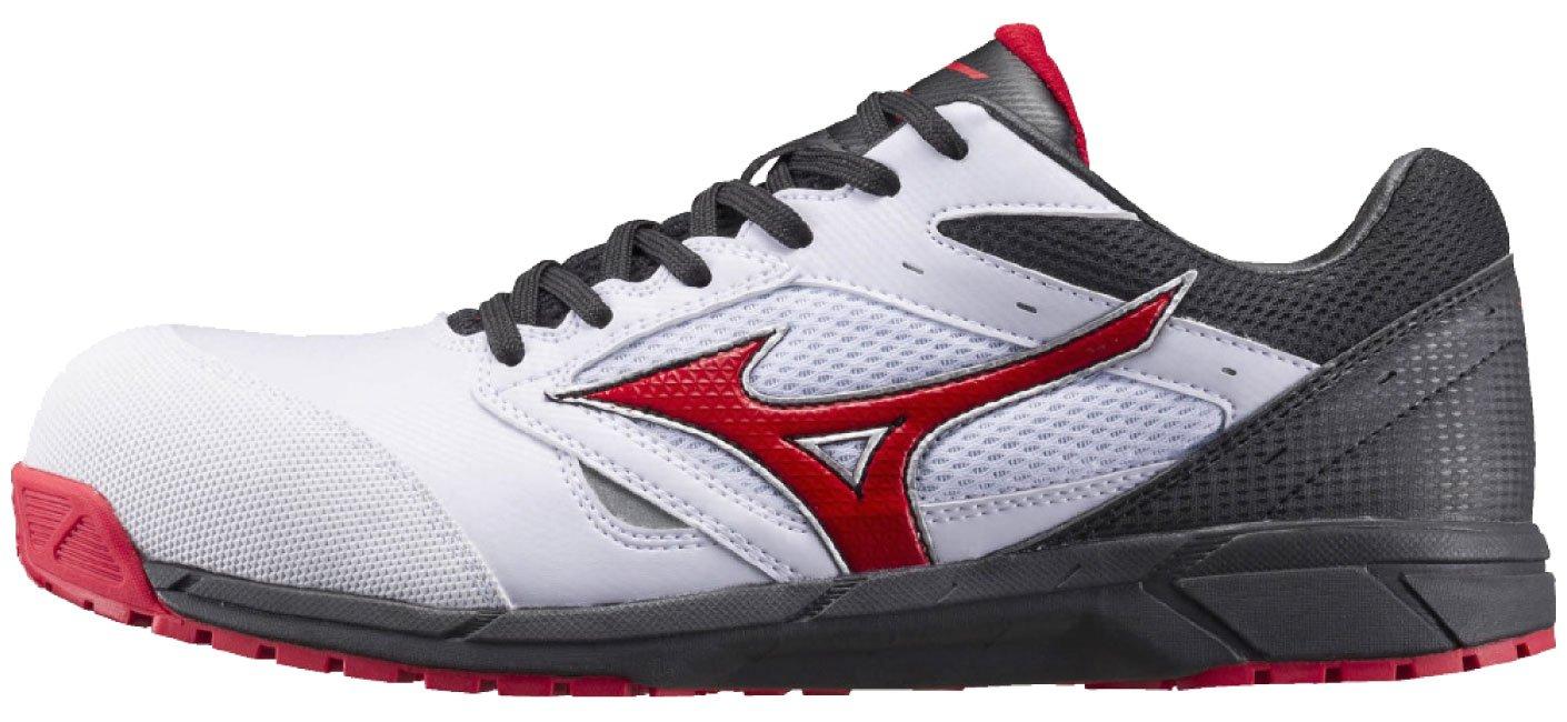 MIZUNO(ミズノ)セーフティーシューズ 安全靴 mz-c1ga1700 B073S6257V 23 cm|ホワイトxRxB