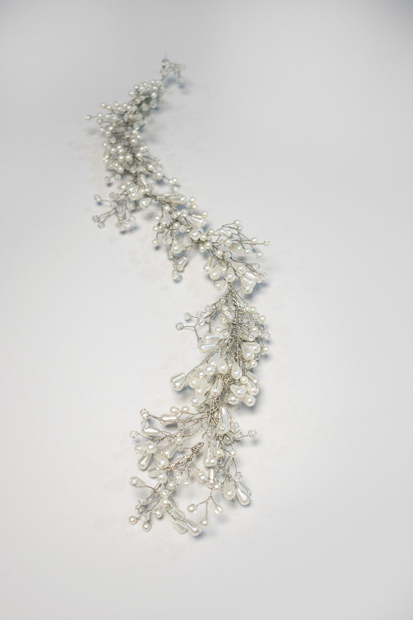 Bridal Bead Wreath