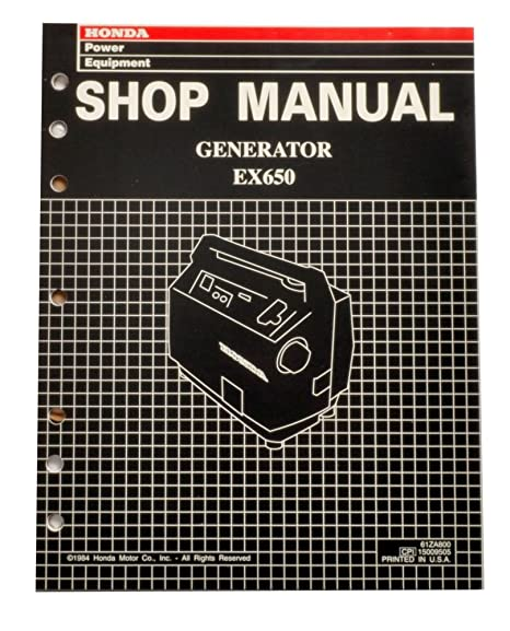 amazon com honda ex650 generator service repair shop manual automotive 125cc roketa dirt bike wiring diagram honda ex650 generator service repair shop manual