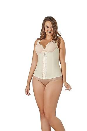 629c436636 Women s Shapewear Slim Latex Shaper Thermal Vest Bodysuit Waist Cincher  Faja at Amazon Women s Clothing store