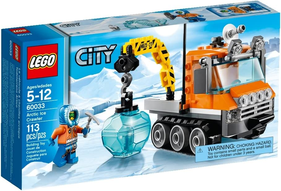 LEGO City Arctic Ice Crawler 60033 Building Toy