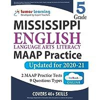Mississippi Academic Assessment Program Test Prep: Grade 5 English Language Arts Literacy (ELA) Practice Workbook and…