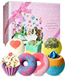 STNTUS Bath Bombs, 7 Natural Bath Bomb Gift
