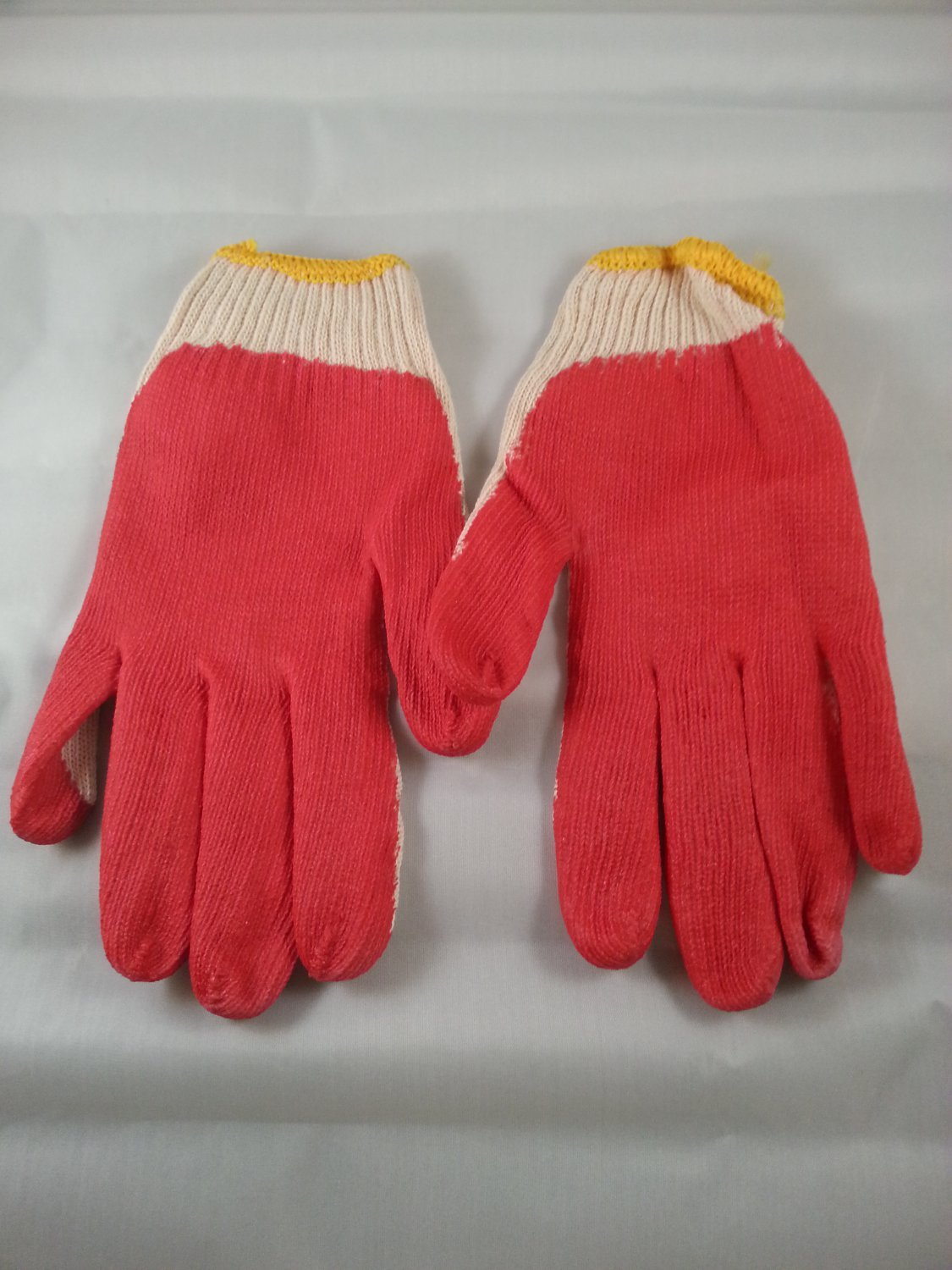 Lot Of 240 Pairs Premium Palm Coating Work Gloves One Size Fit All Free Shipping