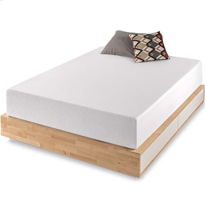Best Price Mattress 12-Inch Memory Foam Mattress - Soft and Comfortable Body-Conforming